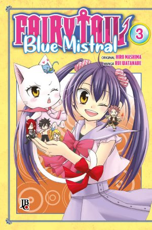 capa de Fairy Tail Blue Mistral #03
