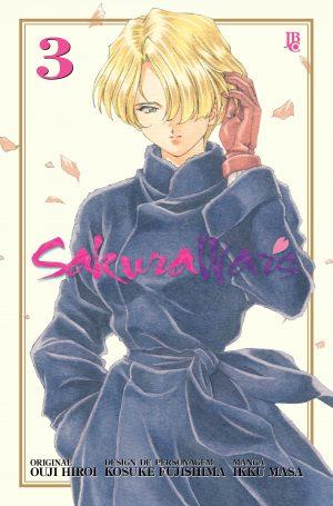capa de Sakura Wars #03