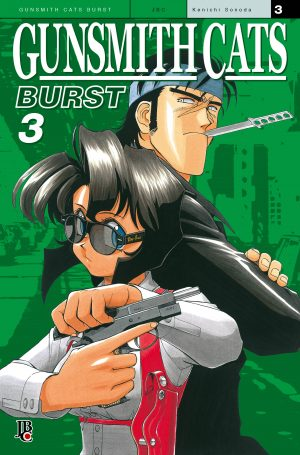 capa de Gunsmith Cats - Burst #03