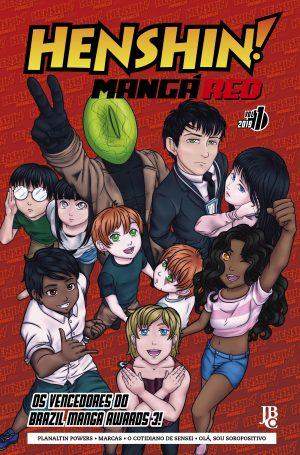 capa de Henshin Mangá RED