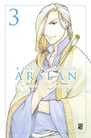 capa de A Heroica Lenda de Arslan #03