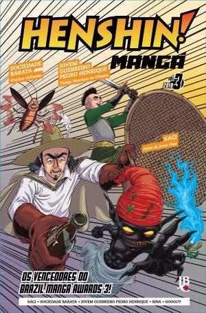 capa de Henshin Mangá #03