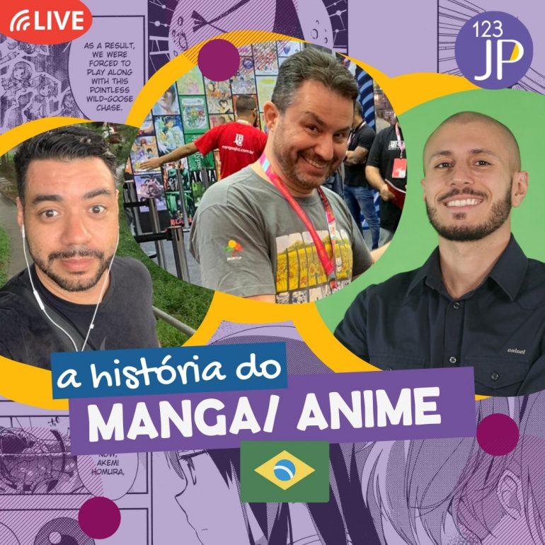 live a história do mangá