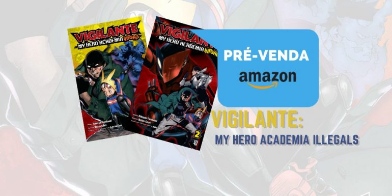 vigilante prevenda amazon site jbc