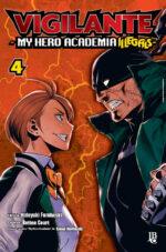 capa de Vigilante: My Hero Academia Illegals #04