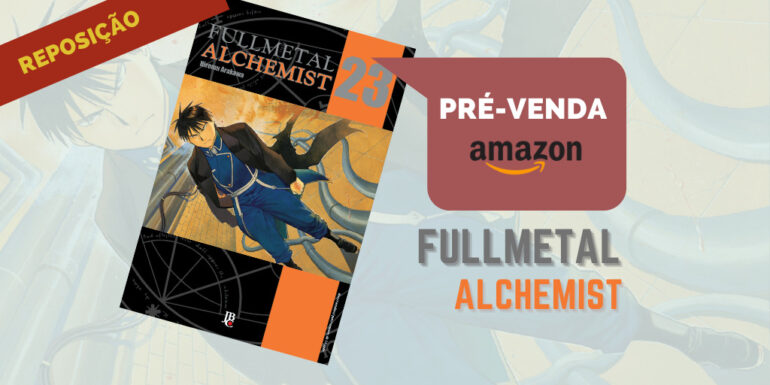 fullmetal alchemist 23 pre venda