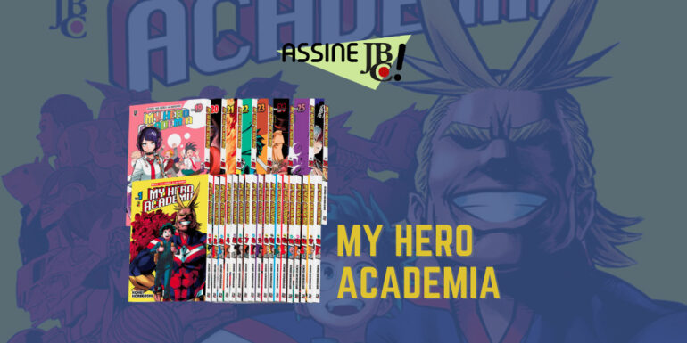 Assine JBC site my hero academia