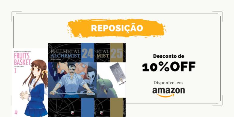 pre venda reposicao fullmetal 24 e 25
