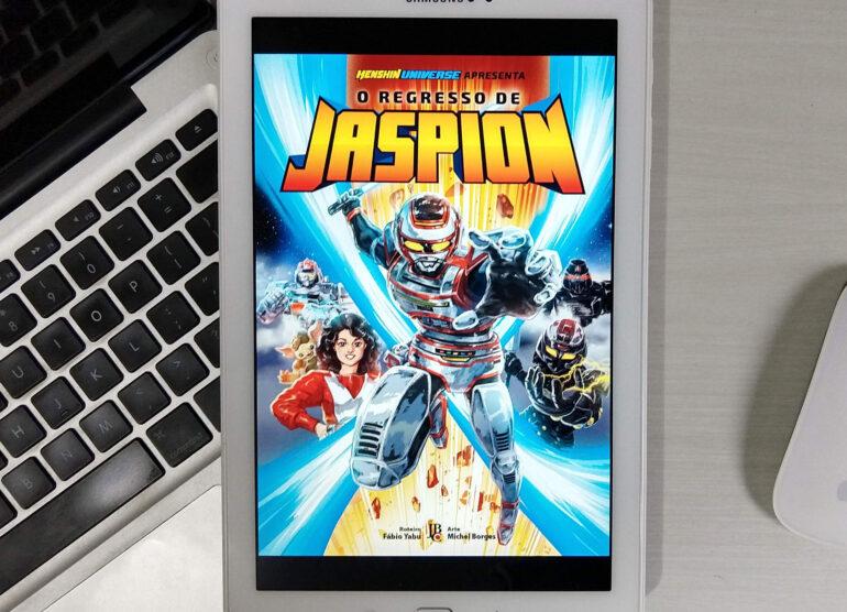 O Regresso de Jaspion digital