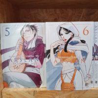 capas de A Heroica Lenda de Arslan #5 e #6