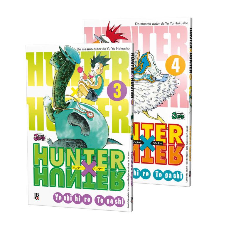 Hunter x Hunter - Reposição [ 3 ~ 24] - PLANO ESGOTADO!
