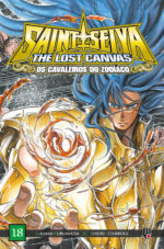 capa de CDZ The Lost Canvas ESP. #18