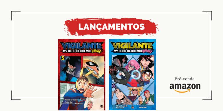 pre-venda amazon vigilante 05 e 06
