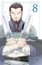 capa de A Heroica Lenda de Arslan