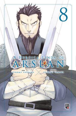 capa de A Heroica Lenda de Arslan #08