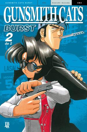 capa de Gunsmith Cats - Burst BIG #02