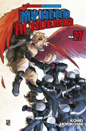 capa de My Hero Academia #27