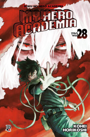 capa de My Hero Academia #28
