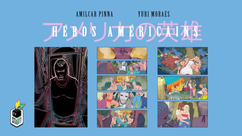 heróis americanos quadrinhos
