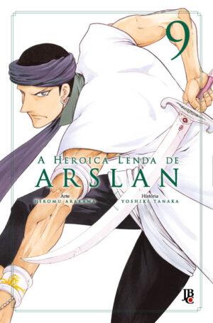 capa de A Heroica Lenda de Arslan #09