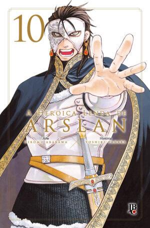capa de A Heroica Lenda de Arslan #10