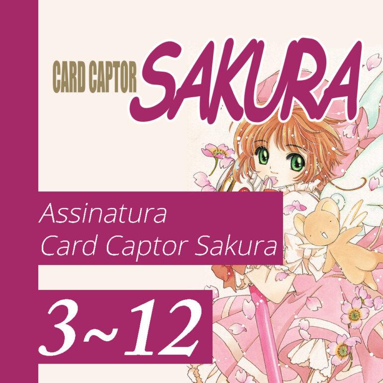 Cardcaptor Sakura [3~12] - PRÉ-VENDA