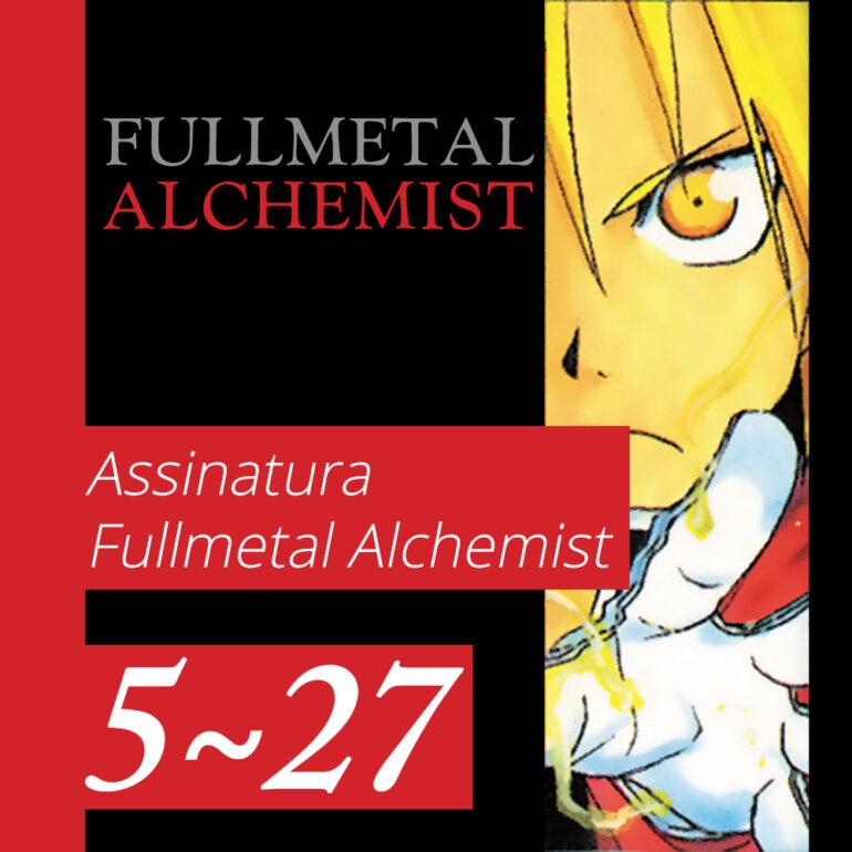 Fullmetal Alchemist [5~27] - PRÉ-VENDA