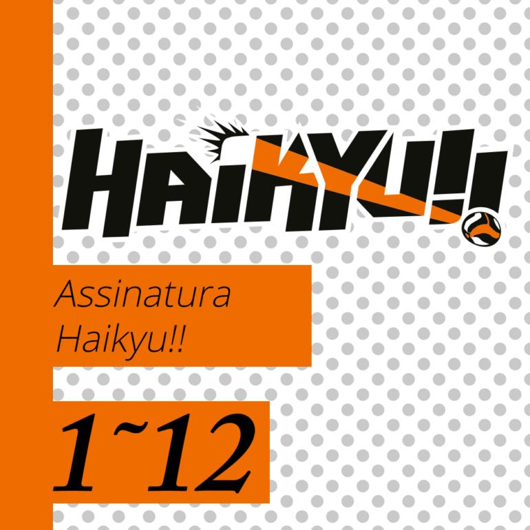 Haikyu! [1~12] - PRÉ-VENDA