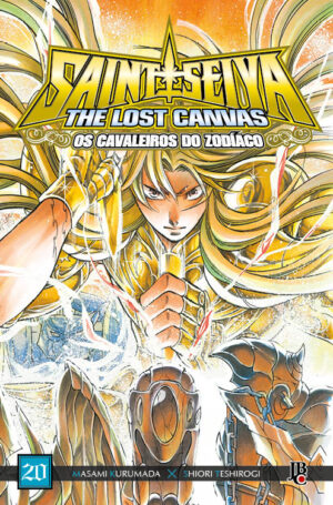 capa de CDZ The Lost Canvas ESP. #20