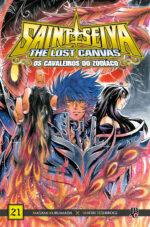 capa de CDZ The Lost Canvas ESP. #21