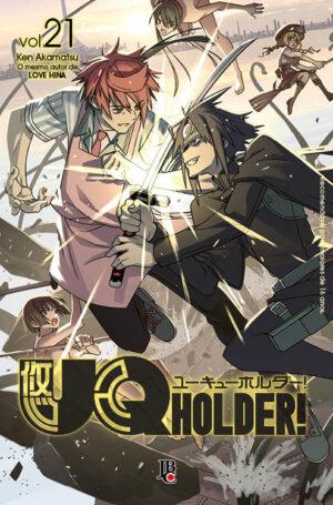 capa de UQ Holder! #21