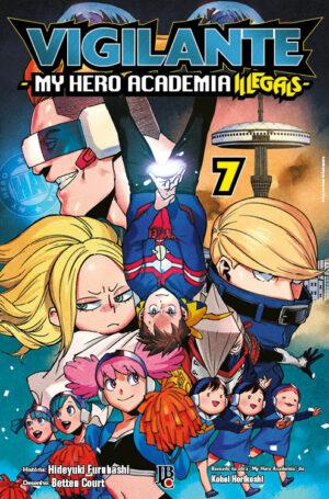 capa de Vigilante: My Hero Academia Illegals #07