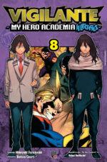 capa de Vigilante: My Hero Academia Illegals #08