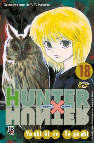 capa de Hunter X Hunter #18