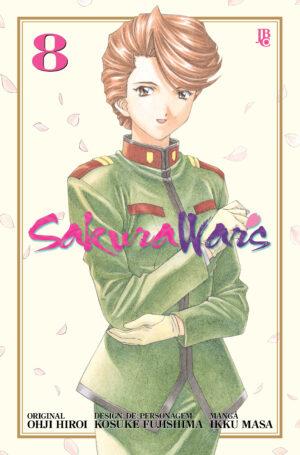 capa de Sakura Wars #08