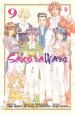 capa de Sakura Wars #09