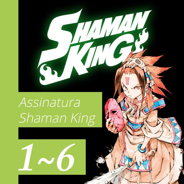 Shaman King [1~6] - Pré-venda