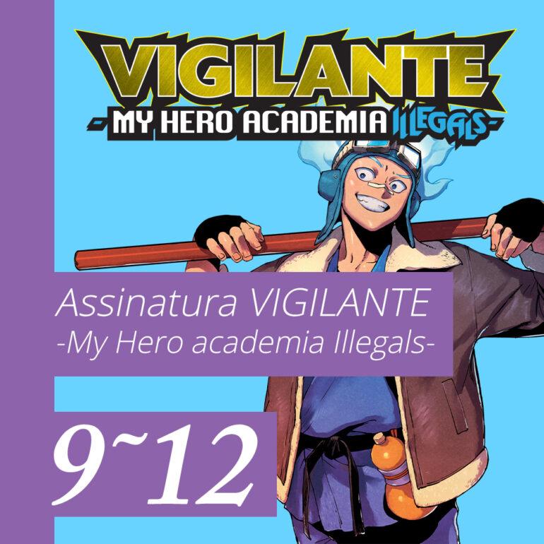 Vigilante My Hero Academia [9~12] - Pré-venda