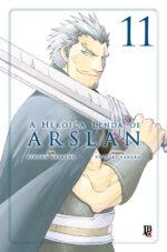capa de A Heroica Lenda de Arslan #11
