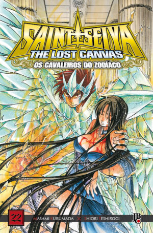 capa de CDZ The Lost Canvas ESP. #22