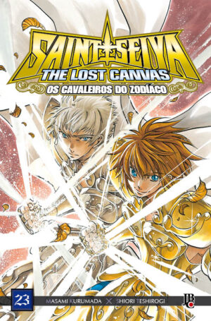 capa de CDZ The Lost Canvas ESP. #23