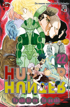 capa de Hunter X Hunter #22