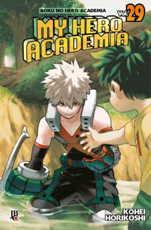 capa de My Hero Academia #29