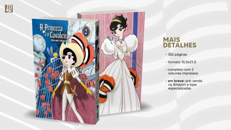 A princesa e o cavaleiro capa volume 2