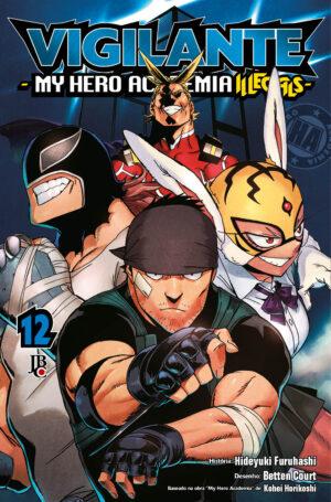 capa de Vigilante: My Hero Academia Illegals #12