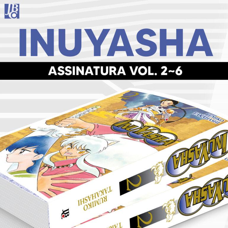 Inuyasha Wideban [2~6] - Pré-venda
